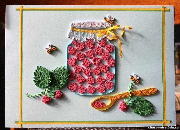 Поделка для детей ягоды 72